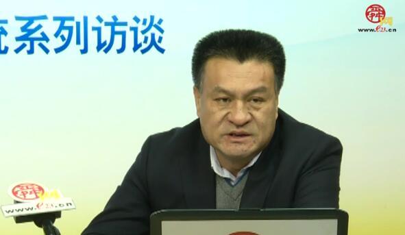 济南市三院党委书记、院长聂志广做客舜网