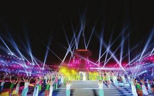 第四届济南泉水节启动仪式全程中