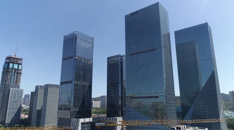 飞阅山东自由贸易试验区济南片区——济南国际金融城
