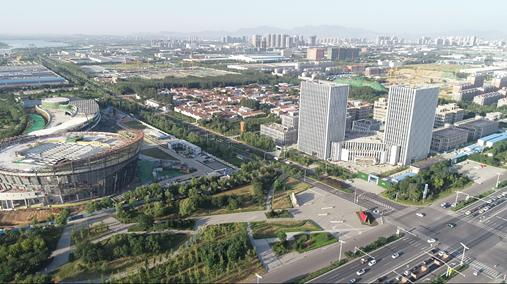 飞阅山东自由贸易试验区济南片区——齐鲁科创大走廊