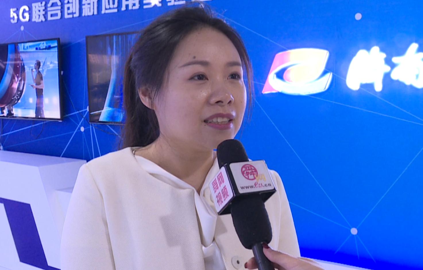 龙虎网总经理朱妮:济南融媒体中心令人震撼 信息化走在前沿