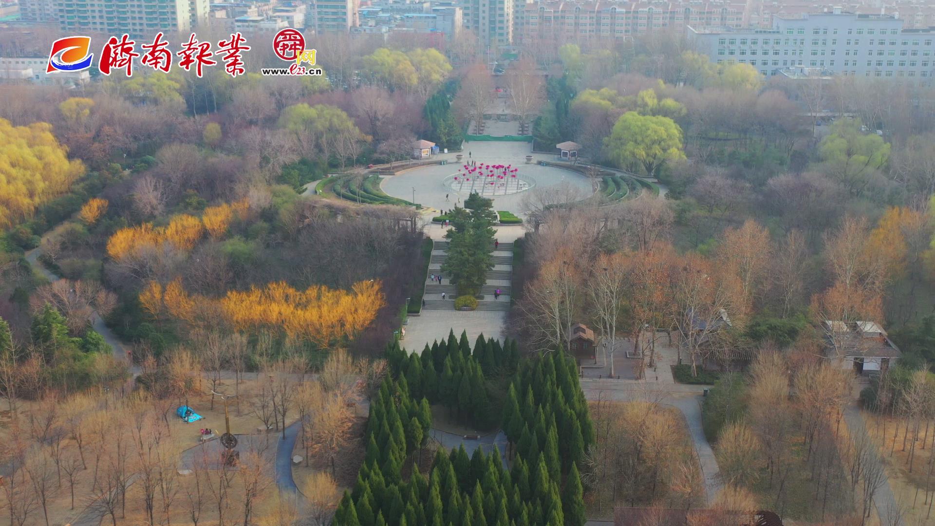 【舜网云踏青(八)】姹紫嫣红扮靓森林公园