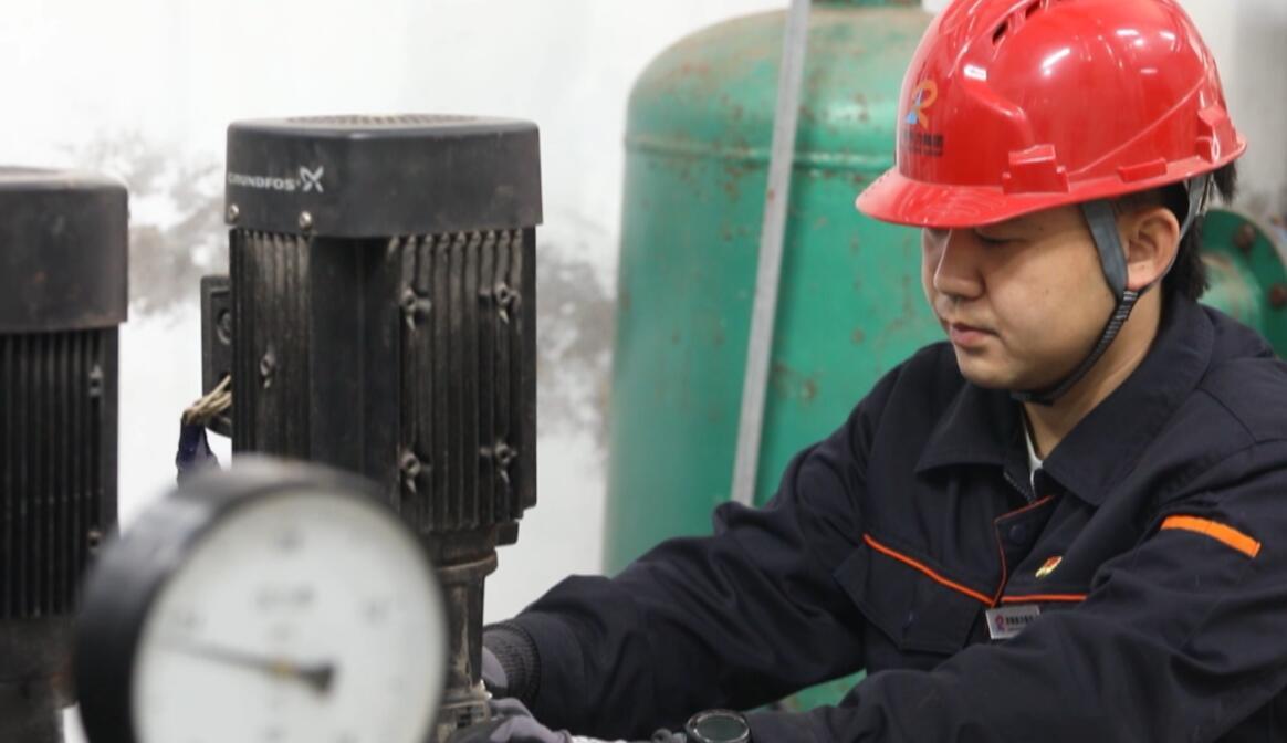 供暖管家黄立诏:重视每个细节 让居民用热有保障